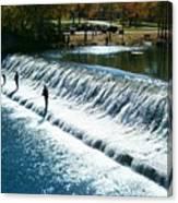 Bennett Springs Spillway Canvas Print