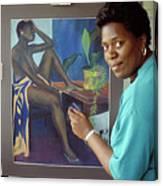 Bermuda Artist Canvas Print