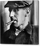 Bertolt Brecht (1898-1956) Canvas Print