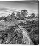 Beyond The Rocks Canvas Print