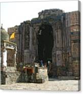 Bhojpur Temple Canvas Print