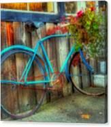 Bicycle Art 1 Canvas Print