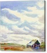 Big Alberta Sky Canvas Print