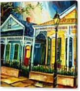 Big Easy Neighborhood Canvas Print