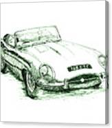 E Type Canvas Print