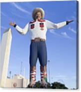 Big Tex In Dallas Texas Canvas Print