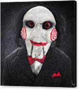 Billy The Puppet Canvas Print
