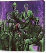 Bird Cage Theater Musicians Number 2 Tombstone Arizona Circa 1890-2009 Canvas Print