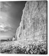 Birling Gap And Seven Sisters Canvas Print