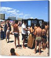 Black Sea Resort 1969 Canvas Print