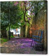 Blossom Path Canvas Print