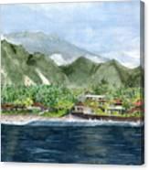 Blue Lagoon Bali Indonesia Canvas Print