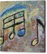 Blue Note Canvas Print