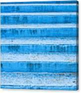 Blue Steps Canvas Print