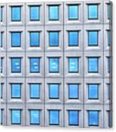 Blue Windows Canvas Print
