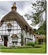 Bluebell Cottage Micheldever Canvas Print