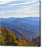 Blue Ridge Parkway View Canvas Print