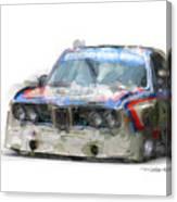 Bmw Csl Batmobile Canvas Print