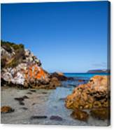 Boat Harbour Beach Canvas Print