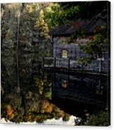 Boat-house Canvas Print
