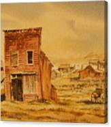 Bodie California Canvas Print