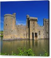 Bodium Castle Sussex Canvas Print