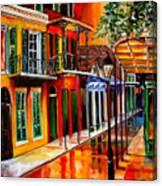 Bold Vieux Carre Canvas Print