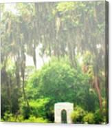Bonaventure Cemetery Savannah Ga Canvas Print
