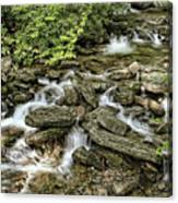 Boone Fork Falls Canvas Print