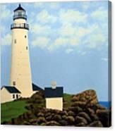Boston Harbor Lighthouse Canvas Print