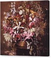Bouquet Of Orchids Canvas Print