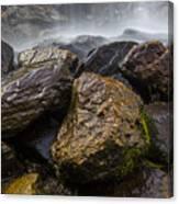 Bridal Veil Falls - Highlands, Nc Canvas Print