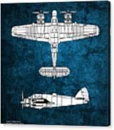 Bristol Beaufighter Canvas Print