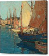 Brittany Boats Canvas Print