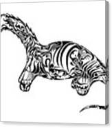 Brontosaurus Canvas Print