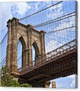 Brooklyn Bridge Ny Canvas Print