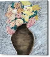 Brown Urn Canvas Print
