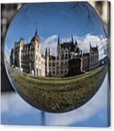 Budapest Globe - Houses Of Parliament Canvas Print