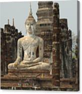 Buddha At Sukhothai Canvas Print