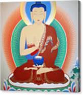 Buddha Kashyapa Canvas Print
