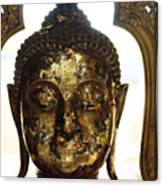 Buddha Sculpture Canvas Print