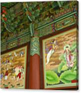 Buddhist Murals Canvas Print