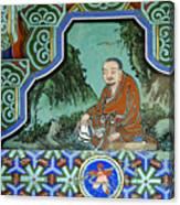 Buddhist Temple Art Canvas Print