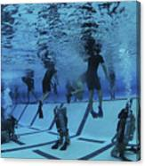 Buds Students Participate In Underwater Canvas Print