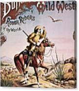 Buffalo Bill: Poster, 1893 Canvas Print