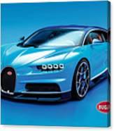 Bugatti Chiron 30 Canvas Print