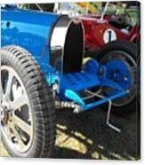 Bugatti Racer Canvas Print