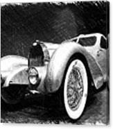 Bugatti Type 57 Aerolithe Canvas Print