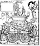 Burgkmair - Maximilian Canvas Print