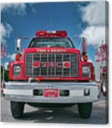 Burnington Iolta Fire Rescue - Tanker Engine 1550, North Carolina Canvas Print